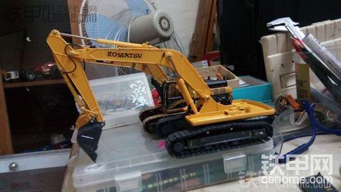 本人第二台自制小松PC310-5模型 (附制作全过程) 多图注意??!