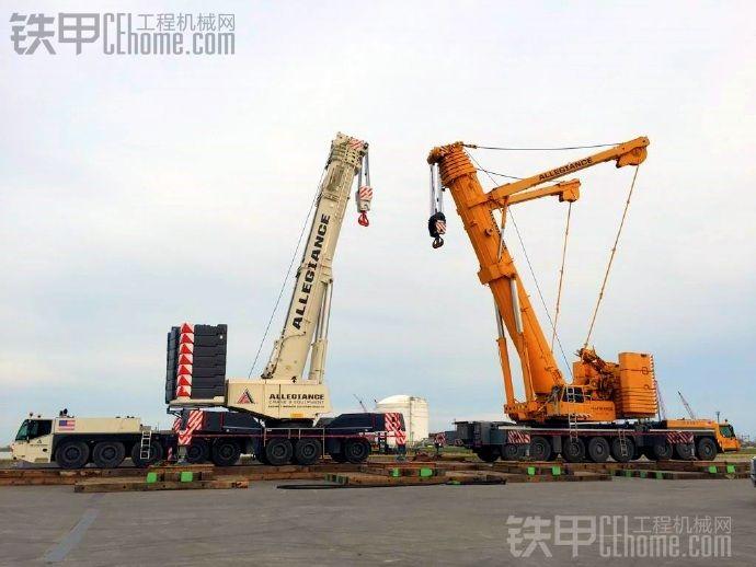全球最(long)畅(duan)销的两款500吨起重机,难分雌雄。(标题是亮点)