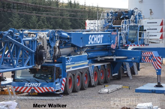 各大公司的利勃海尔LTM1750