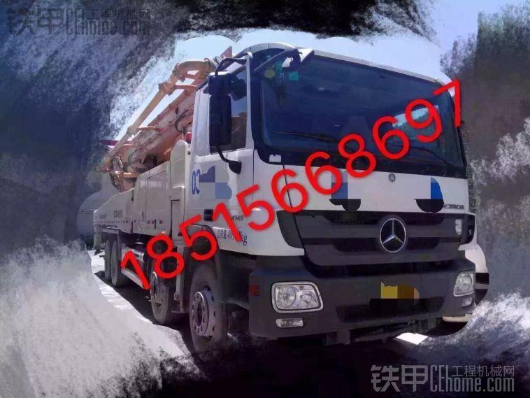 出售13年奔驰底盘中联上装49米泵车113万18515668697
