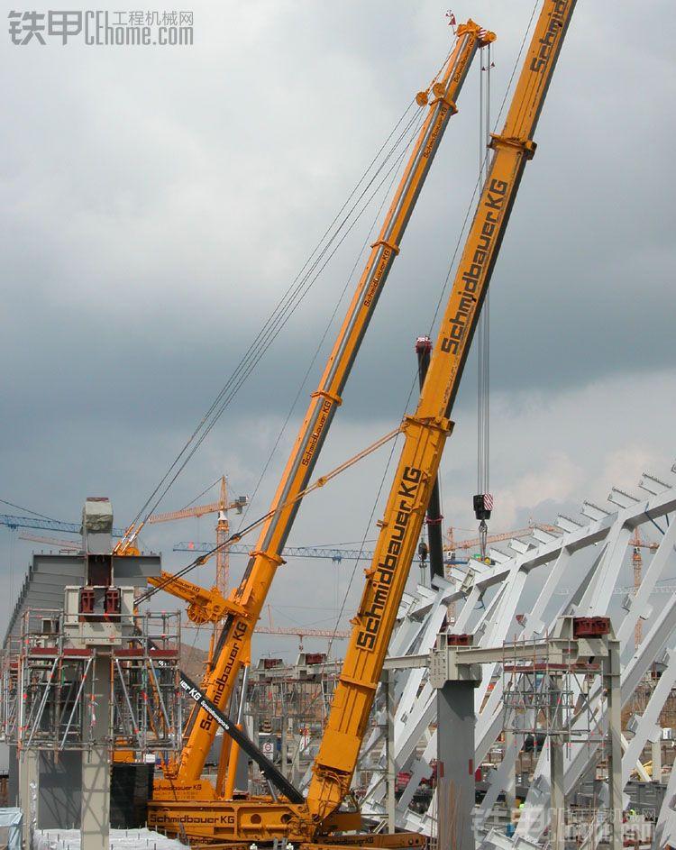schmidbauer02kg02吊车吊装钢结构