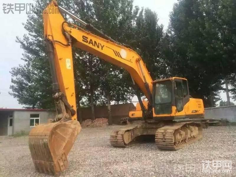 三一重工 SY205C-8 二手挖掘机价格 36万 4700小时帖子图片