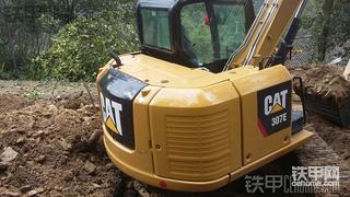 卡特彼勒307E挖掘机1100小时使用报告