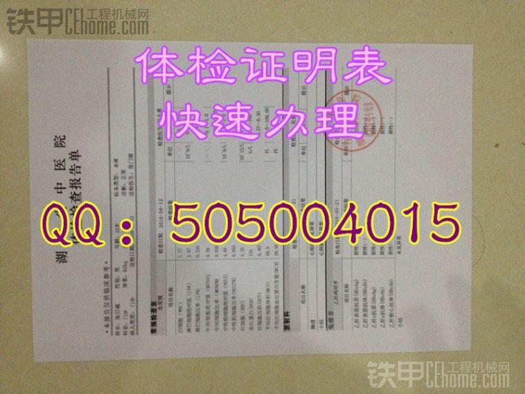 体检证明样本,体检报告样本 北京上海广东