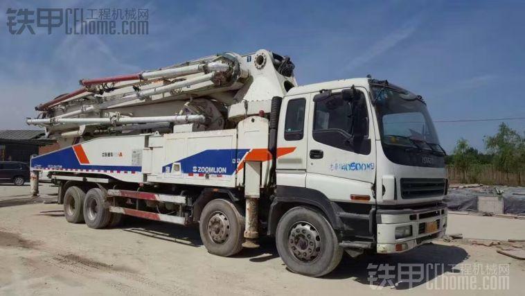 12年中联52米泵车 车况精品 工作12万方 18515668697