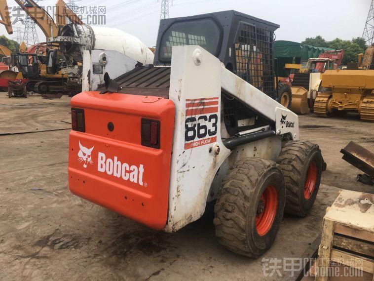 BOBCAT s160,二手山猫滑移装载机