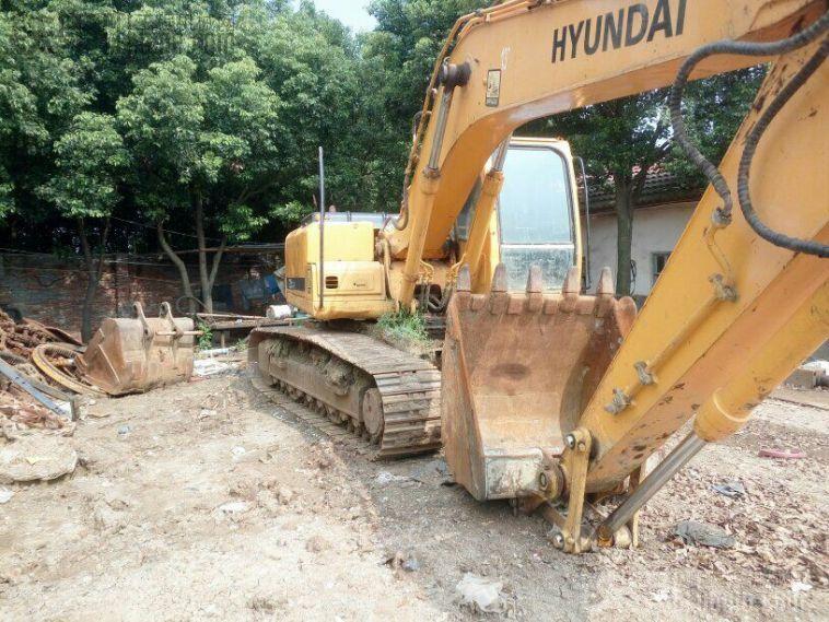 现代 R225LC-7 二手挖掘机价格 19.5万 7400小时