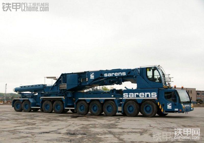 全面欣赏LIEBHERRLTM11200起重机(SARENS涂装)