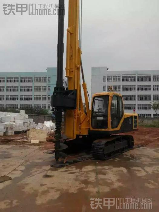 现在挖机行业不好搞,改做旋挖钻