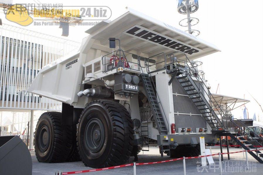 BAUMA2010出现的新巨兽——LIEBHERRT282C矿车