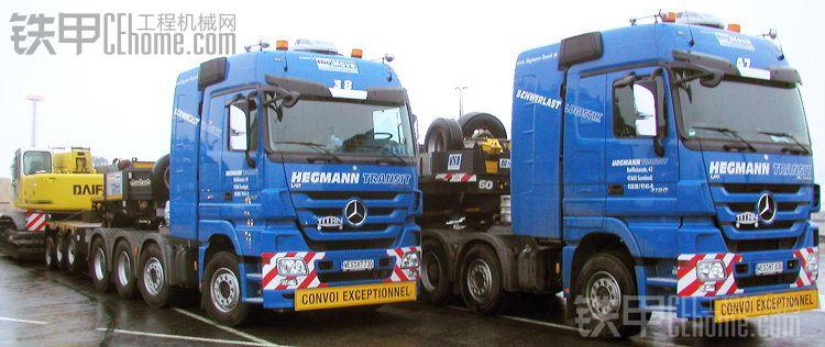 运往BAUMA2010的中国机械