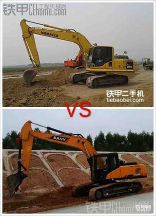 【设备对比】三一215C-9小松PC210-8 谁会更胜一筹?