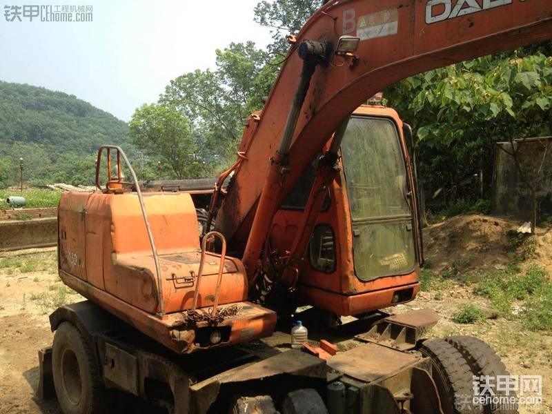斗山 DH130W-V 二手挖掘机价格 18万 8000小时-帖子图片