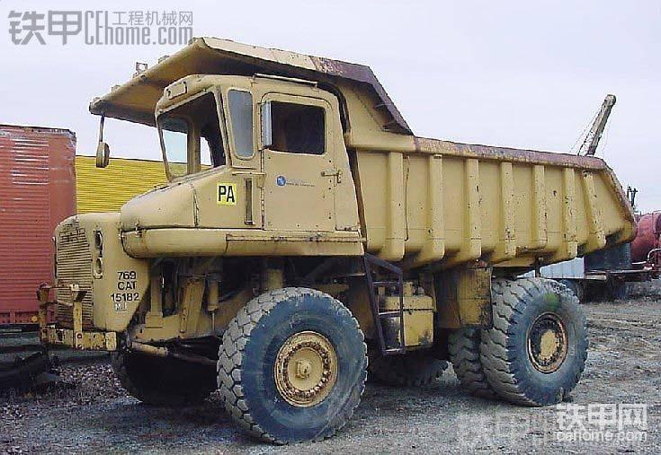 你绝对没见过的卡特彼勒769矿用自卸卡车