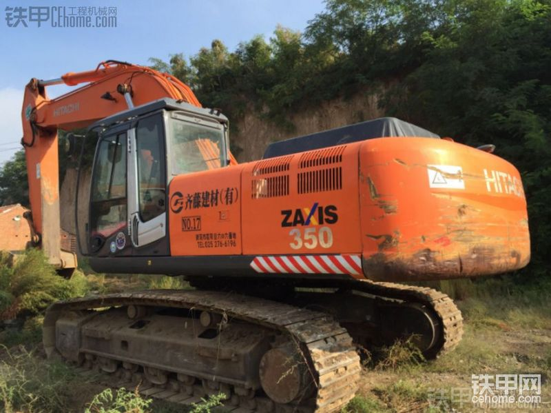 日立 ZX350K 二手挖掘机价格 39万 3888小时帖子图片