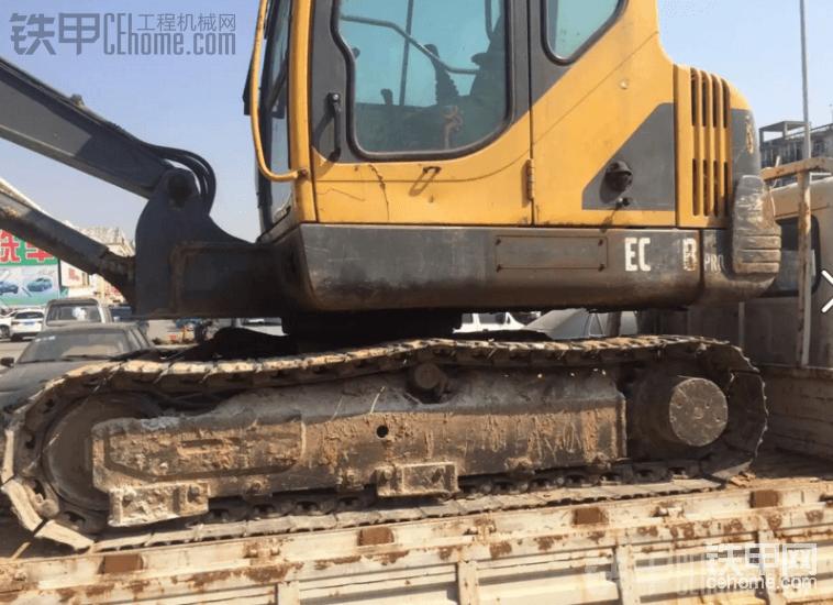 沃尔沃 EC55 二手挖掘机价格 12万 10000小时-帖子图片