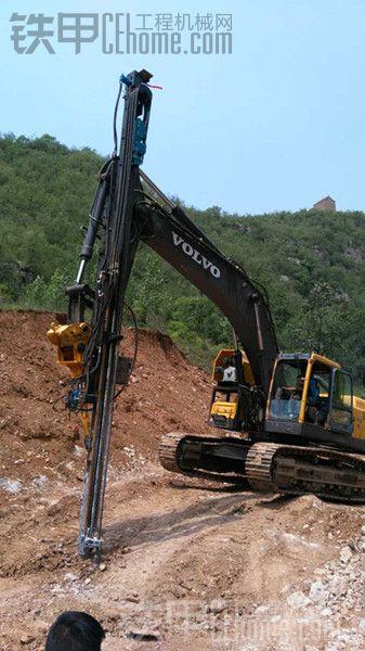 才提的挖改液压凿岩机。。