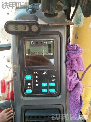 小松PC130-7挖掘机5555.5使用报告