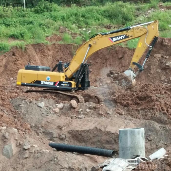 雷沃60-7挖掘机13000小时使用报告