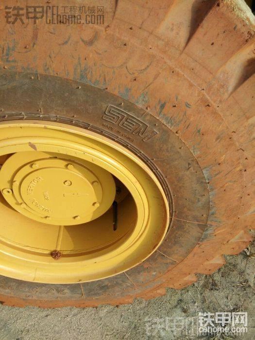 山工自己的轮胎