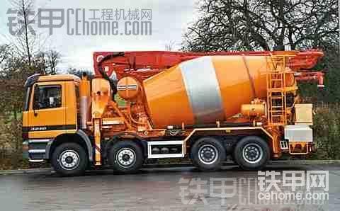 PUTZMEISTERPumi混凝土搅拌车连车泵