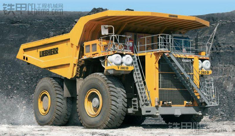 最大的卡车——LIEBHERRT282B矿用自卸卡车
