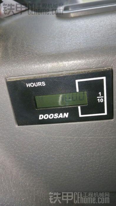 新车过100小时了。