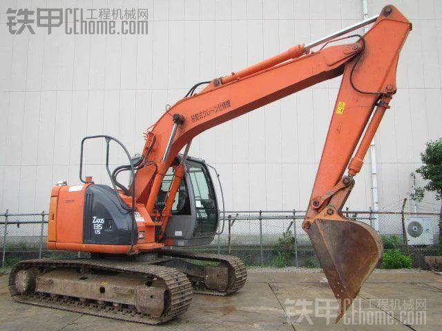 日立 ZX135US 二手挖掘机价格 37万 4000小时