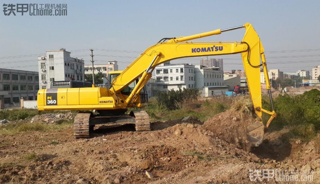 小松 PC360-7 二手挖掘机价格 103万 1788小时