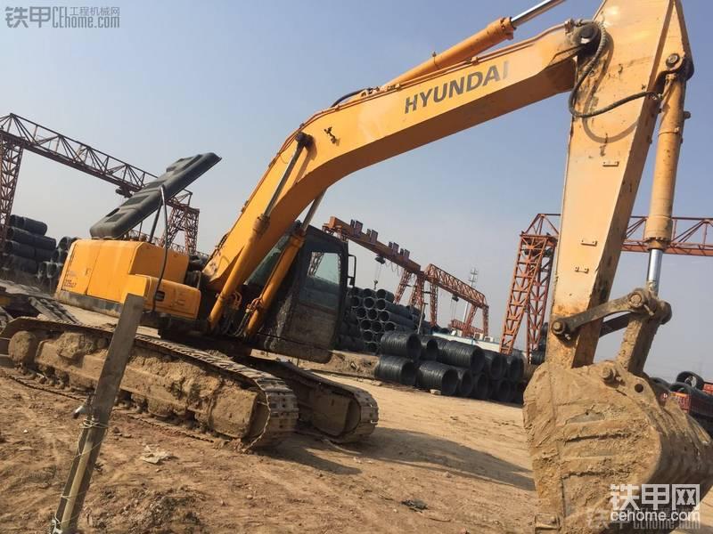 现代 R225LC-7 二手挖掘机价格 35万 5000小时-帖子图片