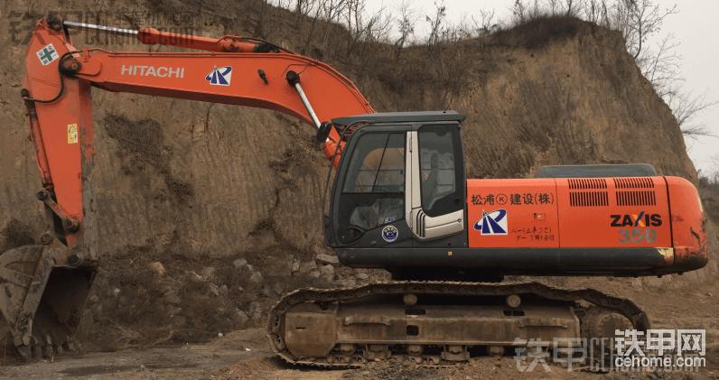 日立 ZX350K 二手挖掘机价格 43万 4800小时帖子图片