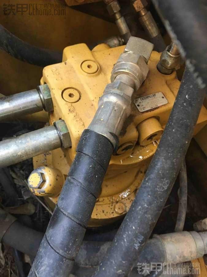 旋转马达漏液压油