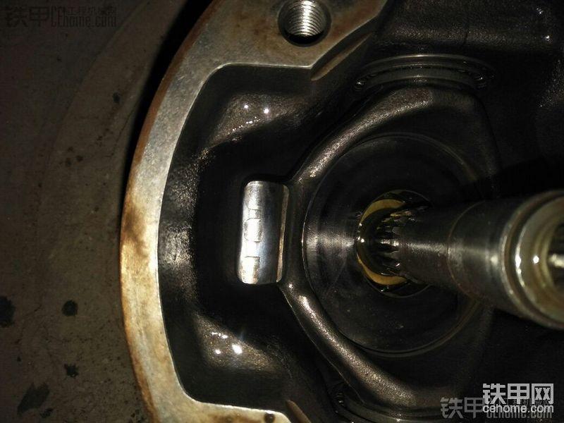 液压泵斜盘有点磨损不换有影响吗-帖子图片