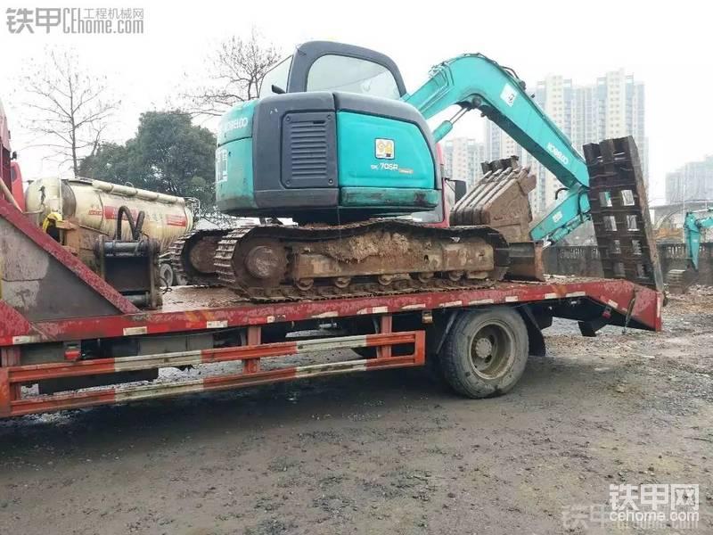神钢 SK70SR-1ES 二手挖掘机价格 18.5万 8002小时