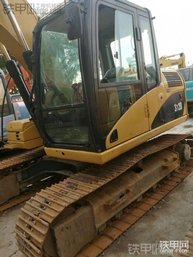 卡特彼勒 312D 二手挖掘机价格 30万 2500小时