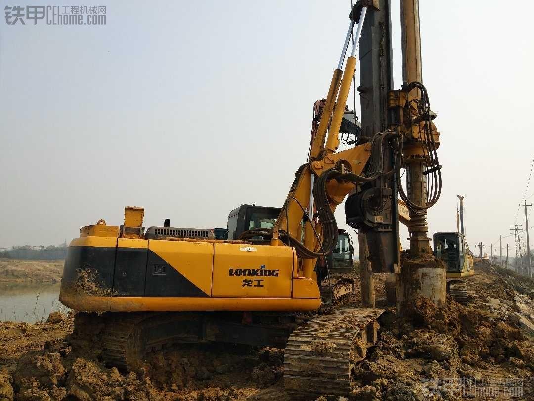 南京工地 旋挖一族