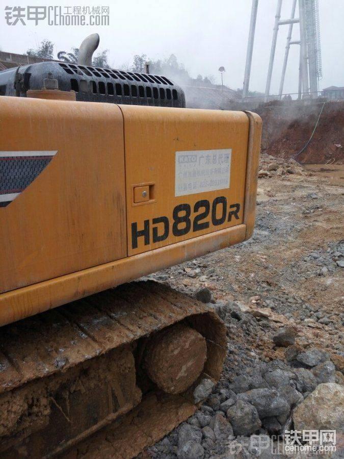 好不好用过才知道,加滕820R挖掘机6700小时使用报告