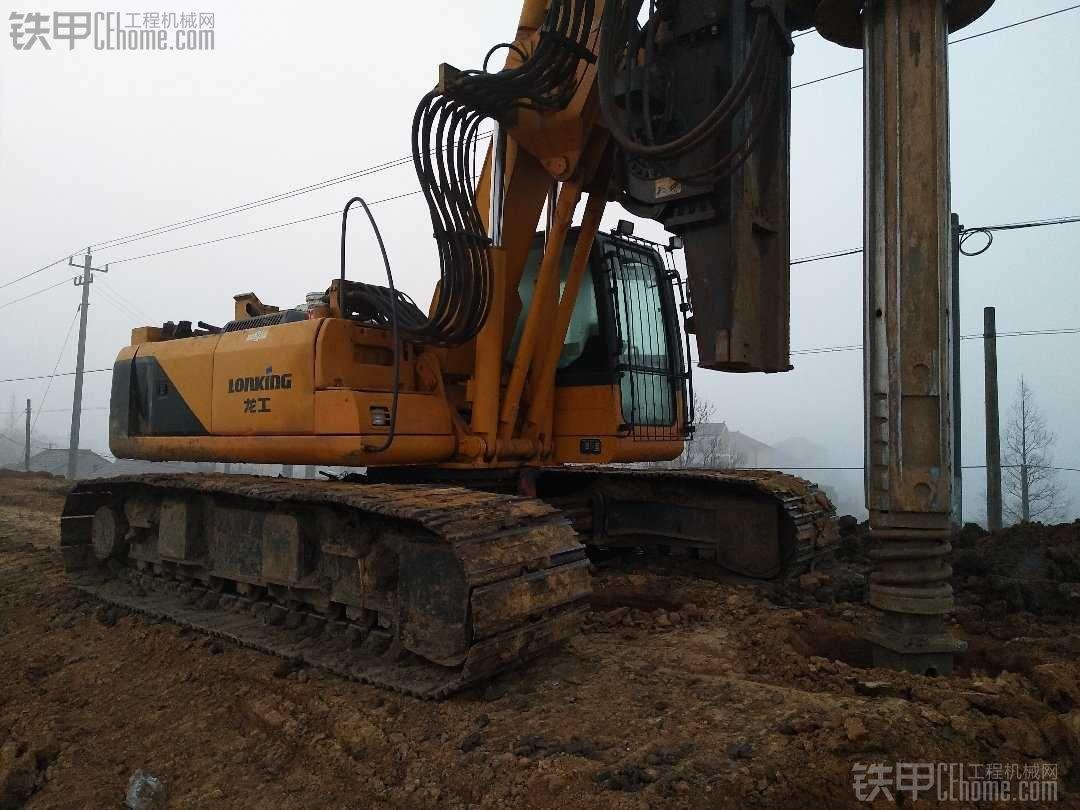旋挖钻机施工中的有关问题