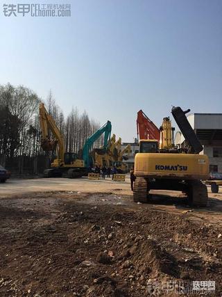 跑遍江苏、山东、河北 70万现金徐水提二手沃尔沃EC360B挖掘机