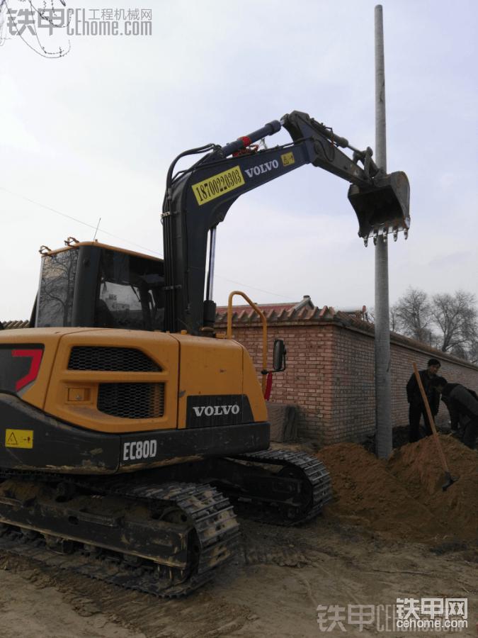 沃尔沃挖掘机栽杆杆-帖子图片