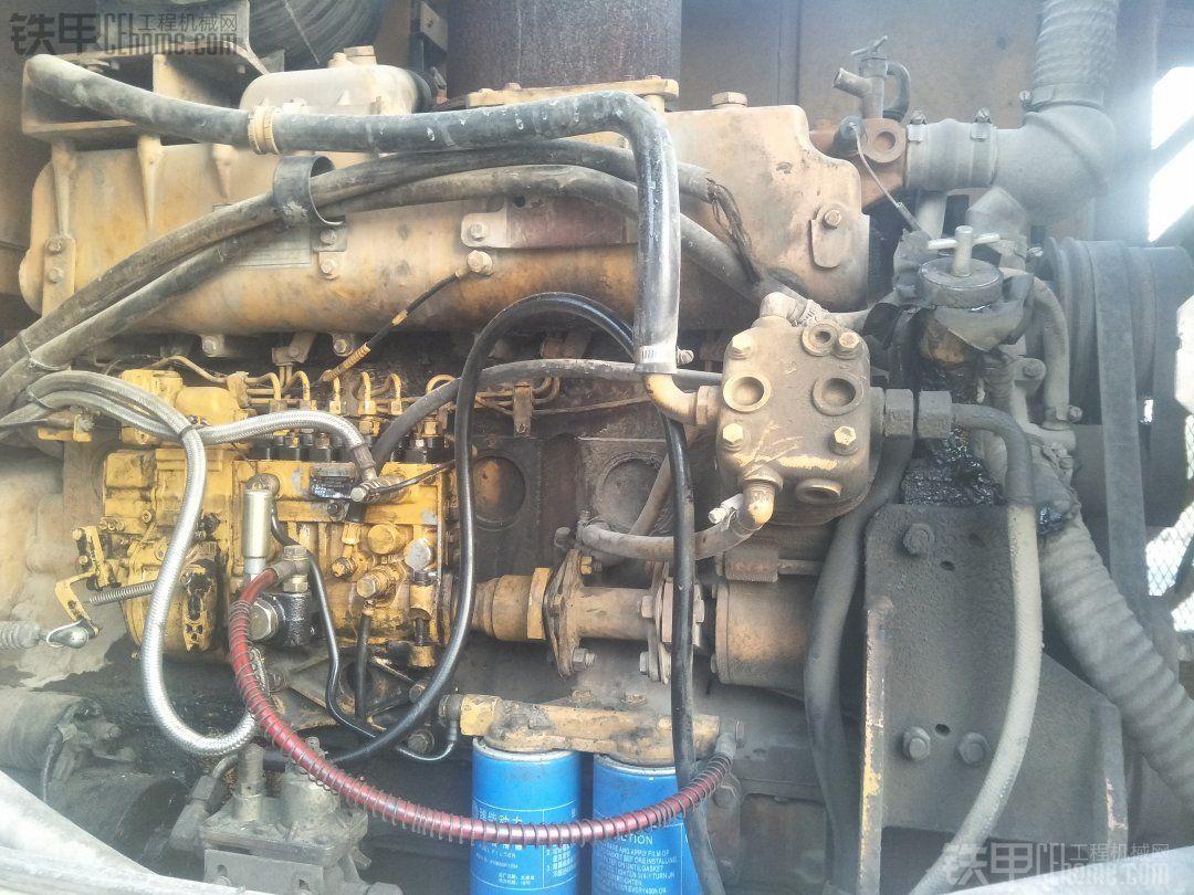 直播大修临工953最经典的发动机