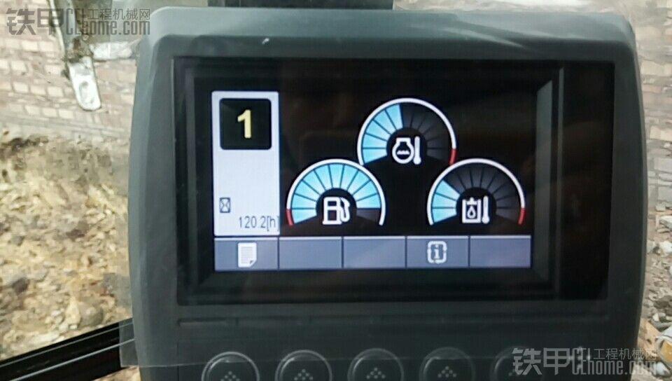 卡特313D2GC130小时使用报告