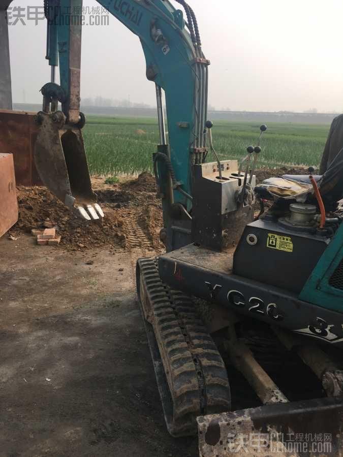 微挖玉柴20-8在线等高手