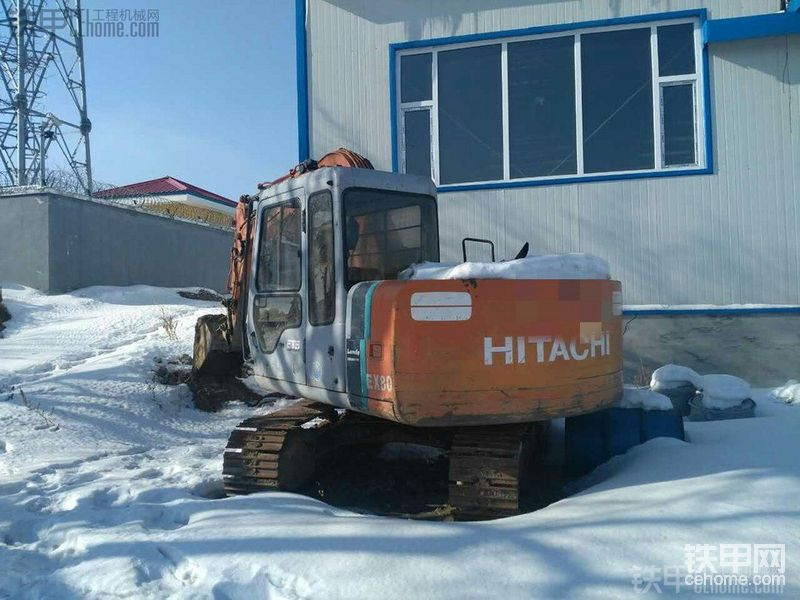日立 EX60-2 二手挖掘机价格 10万 9314小时帖子图片