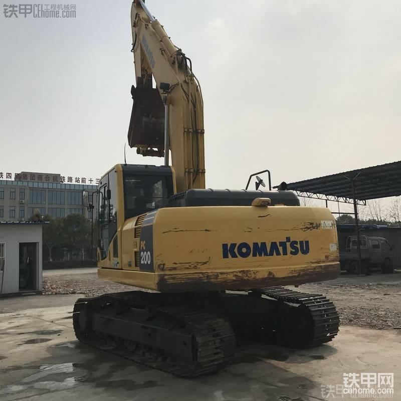小松 PC200-8 二手挖掘机价格 62万 2100小时帖子图片