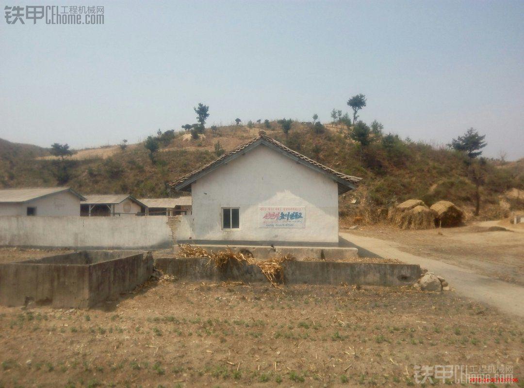【摄影作品】朝鲜农村民居