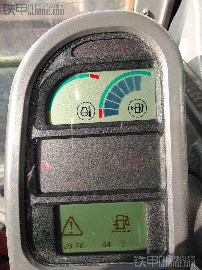 沃尔沃EC210B总报警求高手解答!