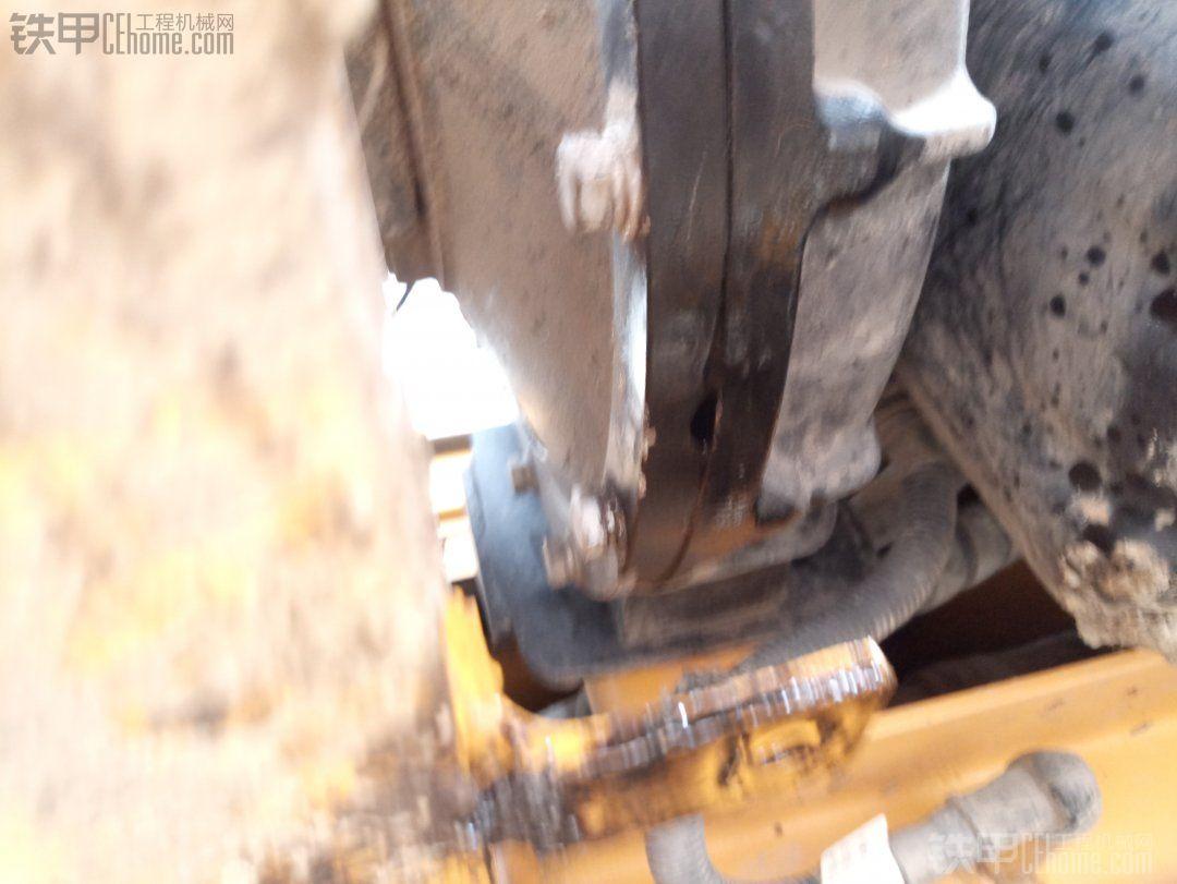 洋马发动机底部漏油
