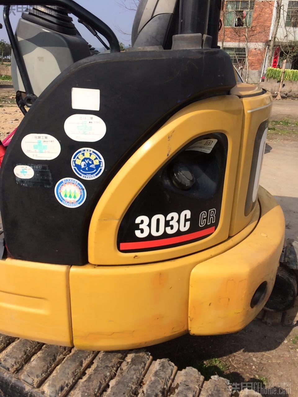 卡特彼勒 303CCR 二手挖掘机价格 15.5万 3000小时