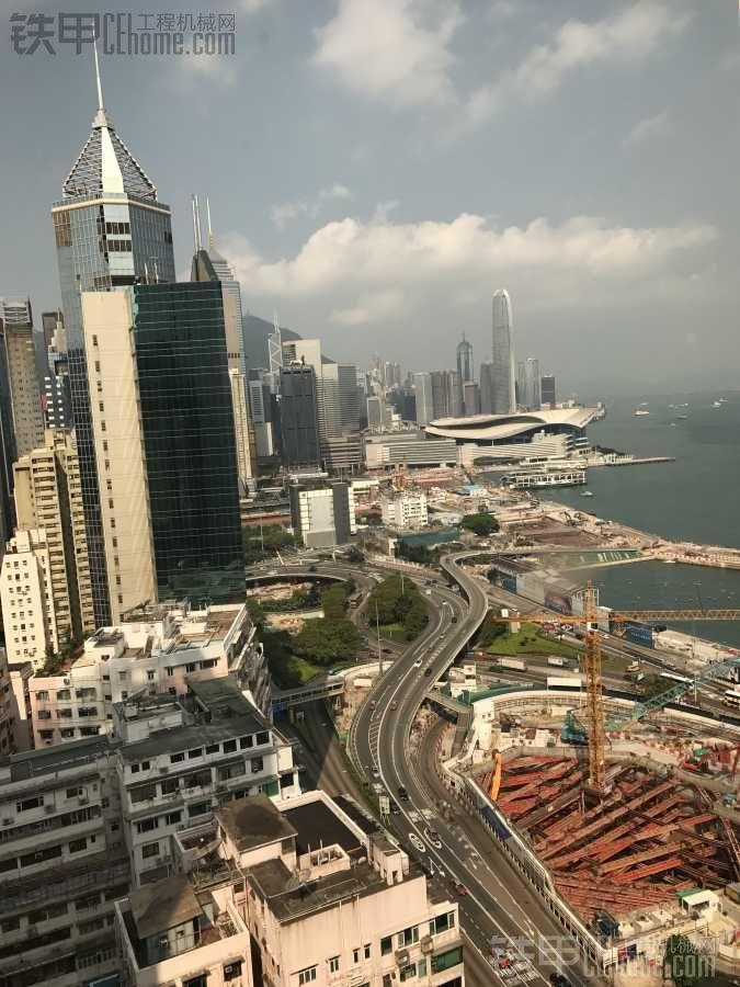 香港工地上的工程机械